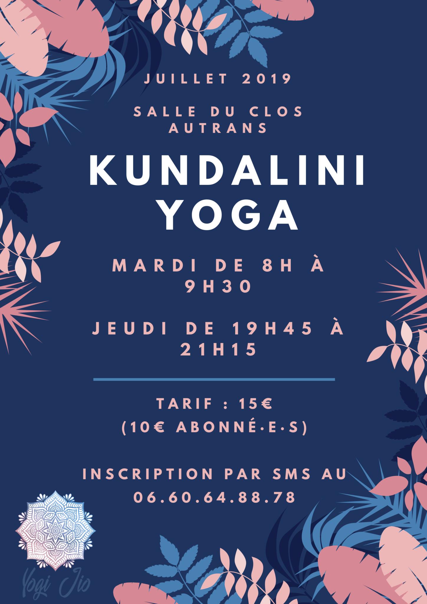 Du Kundalini Yoga en Juillet à Autrans