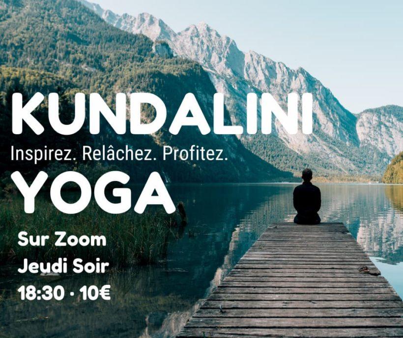 Kundalini Yoga en ligne (Zoom)